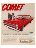 1966 Mercury-Comet New Lengths Posters