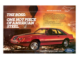 1983Mustang the Boss Hot Piece Prints