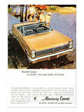 1965Mercury Beautiful Sequence Posters