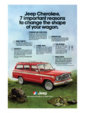1980 Jeep Cherokee - Reasons Posters