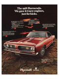 1968 Plymouth Barracuda Posters