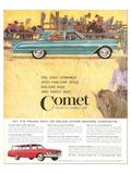 1961Mercury-Comet Big Car Ride Prints