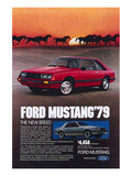 1979 Mustang - New Breed Posters