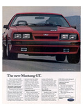 1985 the New Mustang GT Art