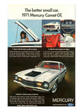 1971 Mercury-Better Small Car Print