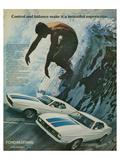 1972 Mustang Control & Balance Poster