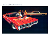 1971 Plymouth Fury GT &Hardtop Posters