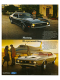 1971 Mustang Part of Yourself Posters