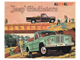 1963 Jeep Gladiators - All New Plakaty