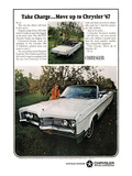 1967 Chrysler - Take Charge Print