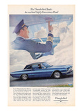 1966 Thunderbird Safety Panel Prints