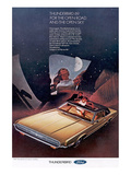 1969Thunderbird Open Road &Sky Poster