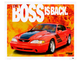 1995 Mustang-The Boss is Back Affiches