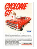 1966 Mercury-Comet Cyclone Gt Prints