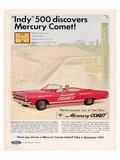 1966 Mercury - Comet Indy 500 Posters