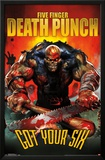 Five Finger Death Punch - Six Poster