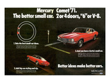 1971 Mercury - Better Cars Prints
