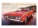 1968 Mercury - Cougar Montego Posters