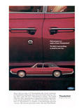 1967 Thunderbird Four-Door Prints