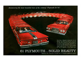 1961 Plymouth … Solid Beauty Prints