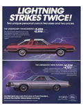1978 Thunderbird Lightning Prints
