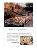 1967 First 4-Door Thunderbird Posters
