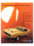 1972 Mustang Make It Beautiful Prints
