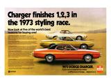 1973 Dodge Charger Rallye Art