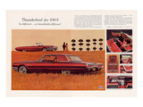 1964 Thunderbird -So Different Print