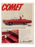 1966 Mercury - Comet Caliente Prints