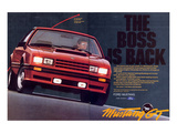 1982 Mustang GT - Boss is Back Prints