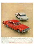 1962 Dodge Dart 440 &Lancer Gt Prints