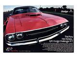 1970 Dodge Challenger Thispony Prints