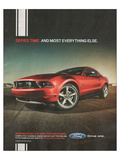 2010 Mustang - Defies Time Posters