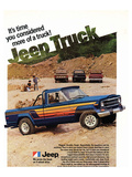 1980 Jeep Truck - Honcho Posters