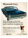 1966 Plymouth Fury Posters