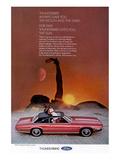 1969 Thunderbird Moon & Stars Posters