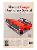 1967 Mercury Dan Gurney Cougar Posters