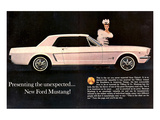 1964 Mustang - Tiffany Award Prints