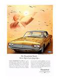1966 Thunderbird Stereo Tape Posters
