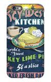 Key West, Florida - Key Lime Pie iPhone 6 Plus Case by  Lantern Press