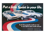 1972 Pinto Maverick Mustang Posters