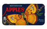 Mariposa Apple Label - San Francisco, CA iPhone 6 Plus Case by  Lantern Press