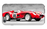 1957 Ferrari Testarossa Watercolor iPhone 6s Plus Case by  NaxArt