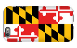 Maryland - State Flag iPhone 6s Plus Case by  Lantern Press
