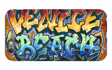 Venice Beach, California - Graffiti iPhone 6 Plus Case by  Lantern Press