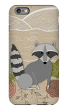 Spring Time Raccoon iPhone 6 Plus Case by  Lantern Press