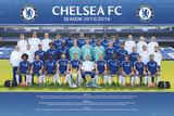 Chelsea- Team 15/16 Posters