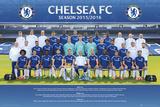 Chelsea- Team 15/16 Plakaty