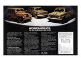 1981 Jeep Fleet-Workaholics Posters